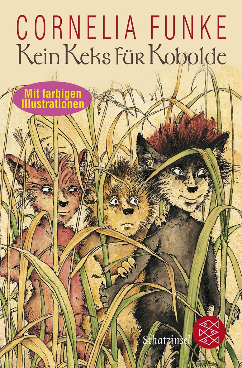 Cover des Kinderbuchs Kein Keks für Kobolde von Cornelia Funke