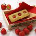 Erdbeer-Pistazien-Financiers