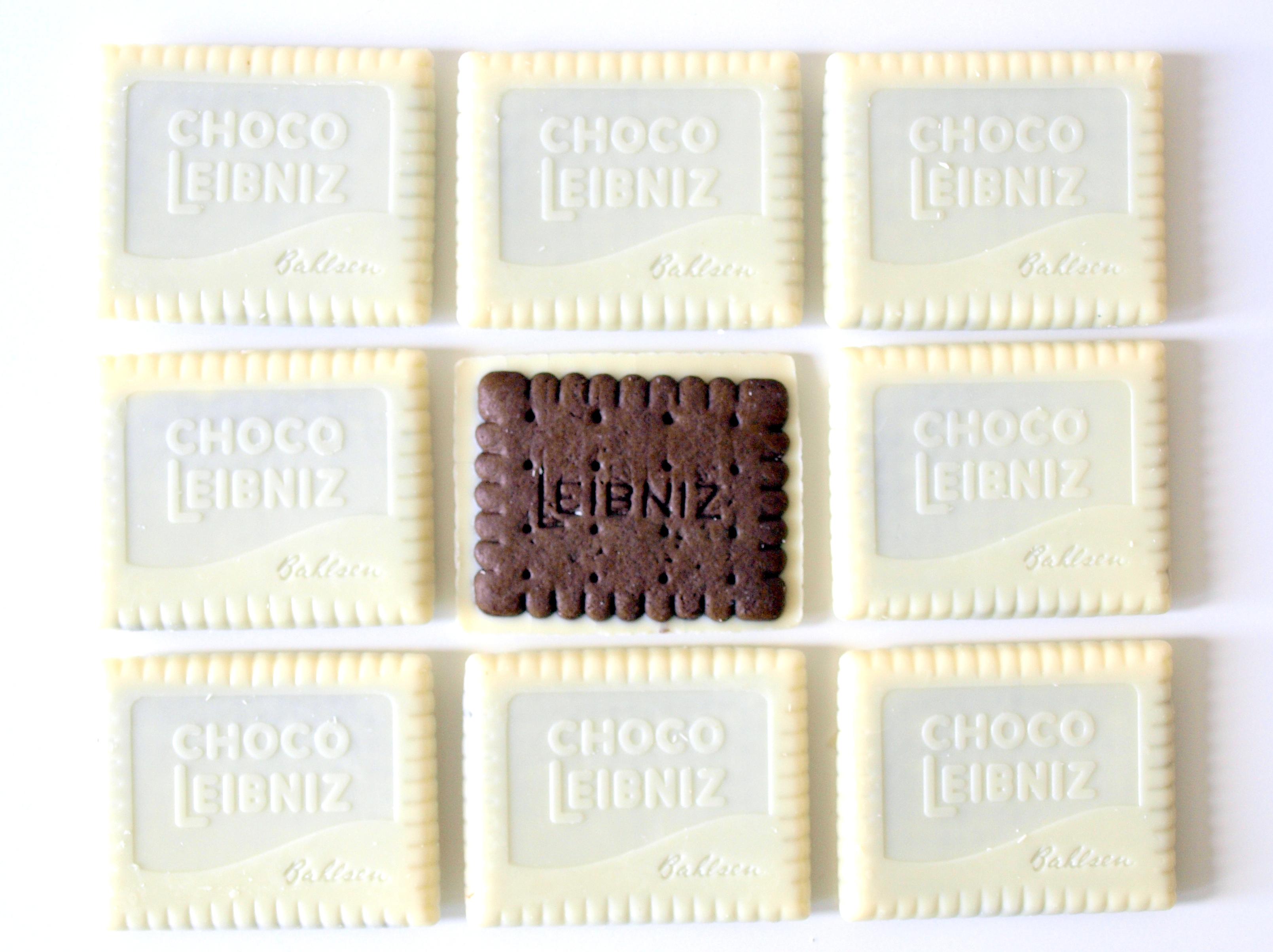 Keks in Schwarz und Weiss