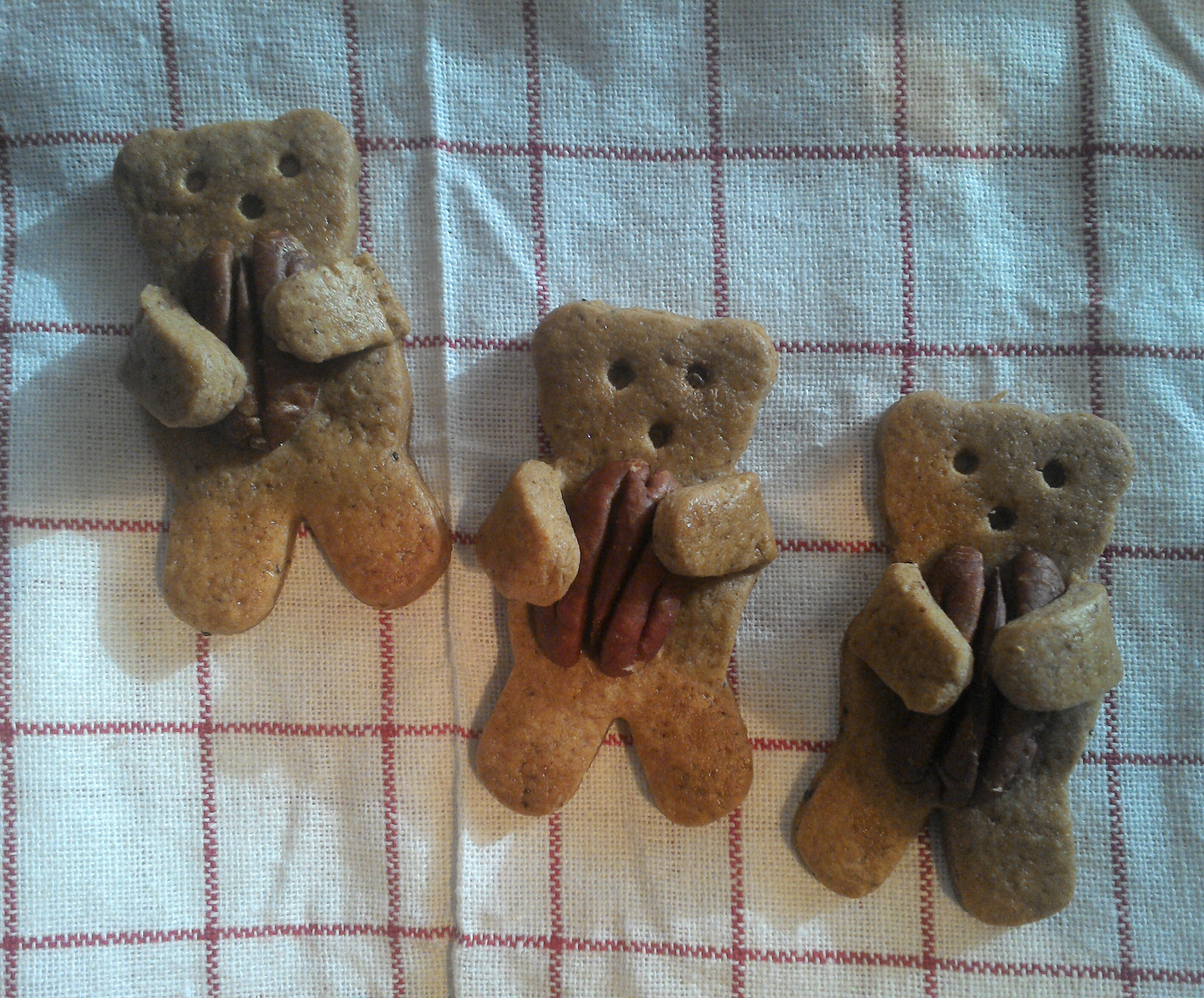 Nut Hugging Bear Cookies