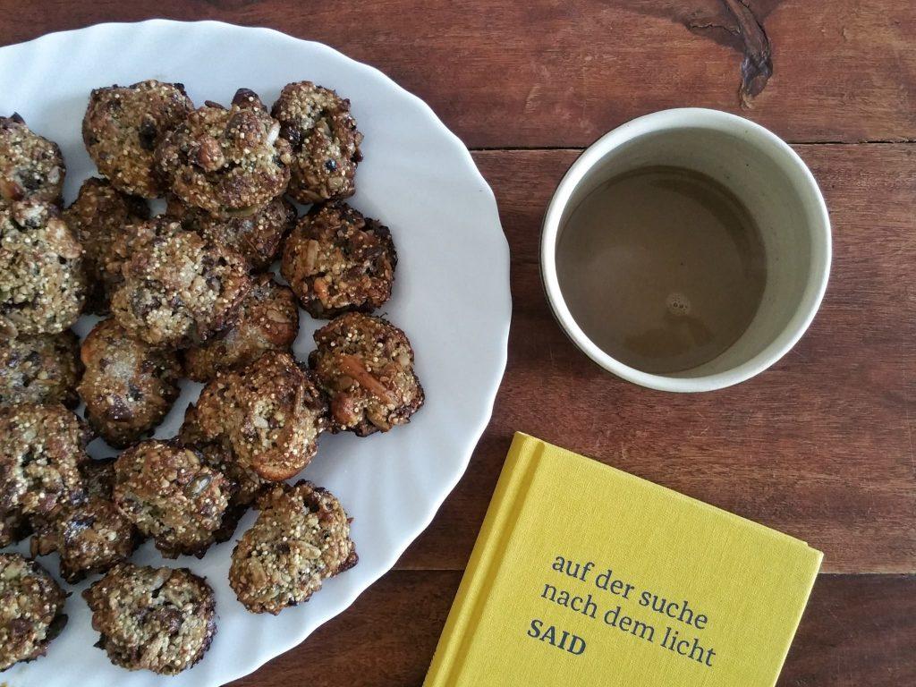 Porridge Cookies mit Kaffee und Said